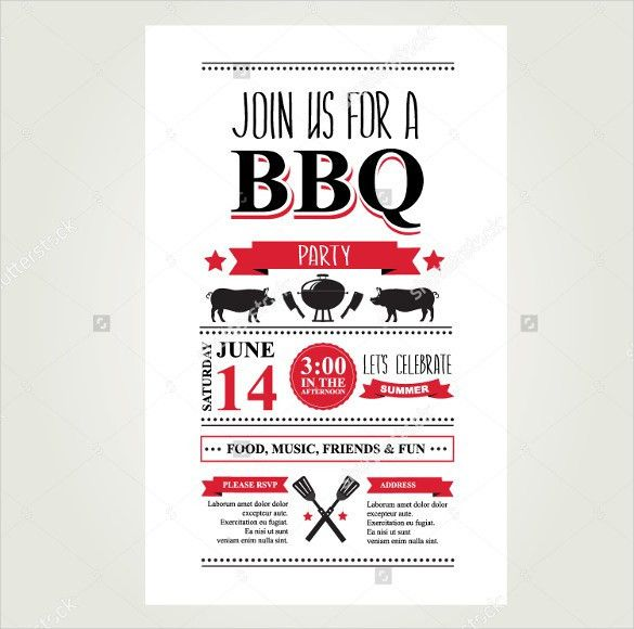 BBQ Menu Template – 23+ Free PSD, EPD Documents Download! | Free ...