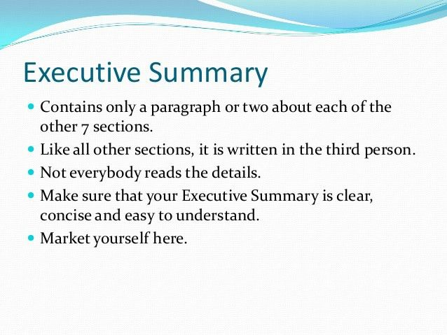 Business plan writing power point