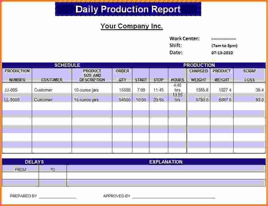 Daily Report Template.Daily Work Report Template.jpg - Sales ...