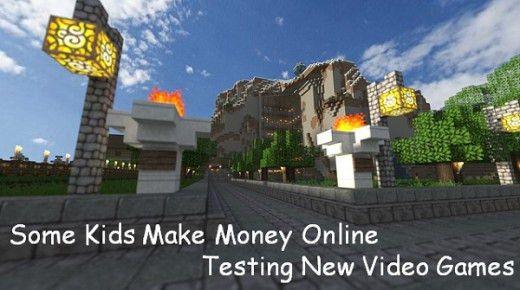 Some Kids Make Money Online Testing New Video Games | HubPages