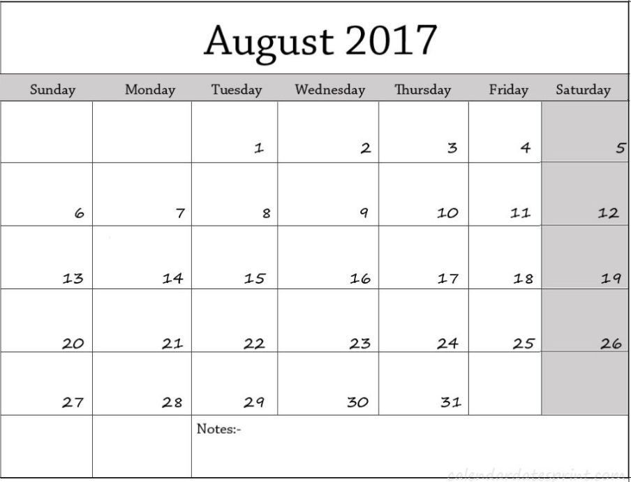 Calendar Template Excel. 2017 Monthly Calendar Light Free Excel ...