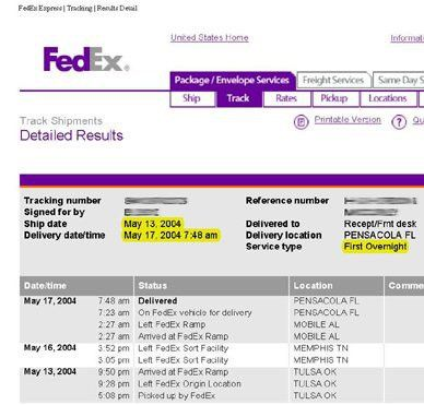 Danz Family: FedEx Sucks!