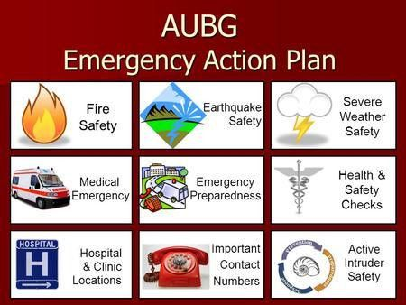 Emergency Action Plan. Your 3-Step Emergency Action Plan   The Dr ...