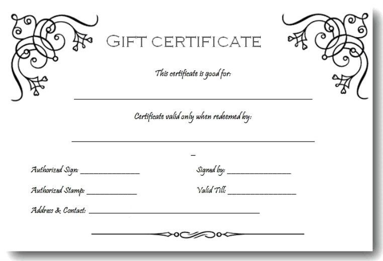 Gift Voucher Template. Gift Voucher Template Pack Free Vector Gift ...