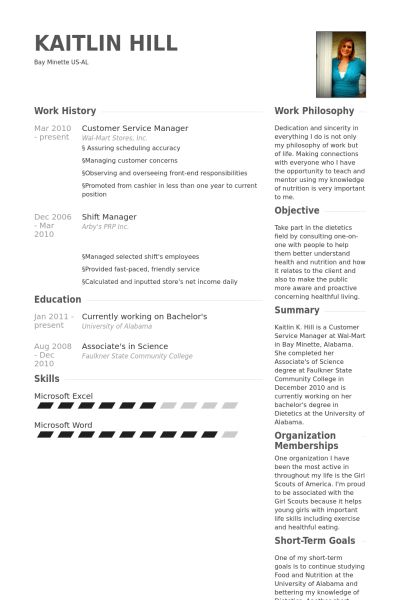 Resumes Sample For Customer Service | Professional resumes sample ...