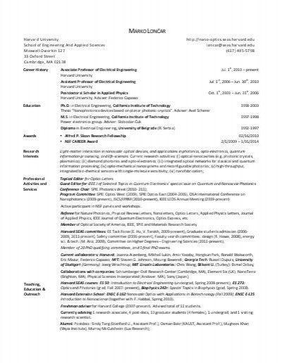 harvard business school resume sample resume template for