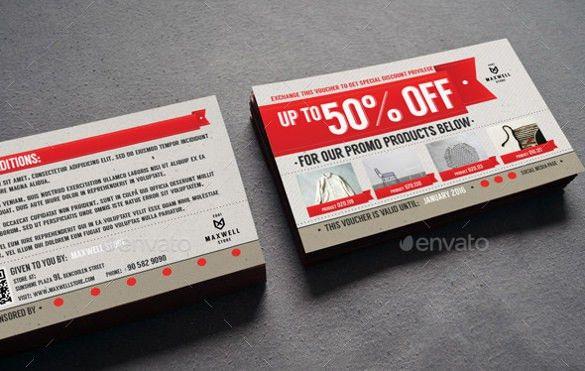 Coupon Voucher Design Template - 30+ Free Word, JPG, PSD, Format ...