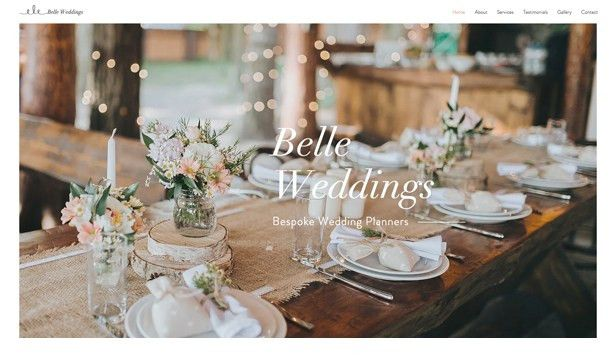 Weddings & Celebrations Website Templates | Events | Wix