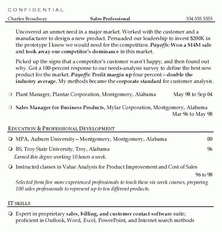 Sales Development Manager Sales Director Resume - Sales ...