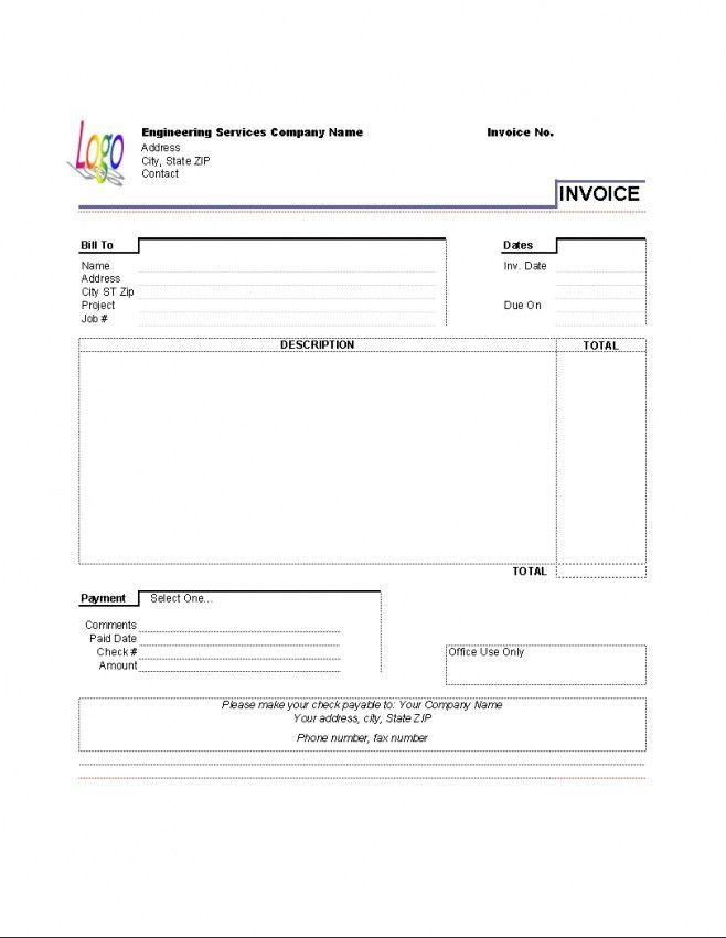 Download Rent Invoice Template Australia | rabitah.net