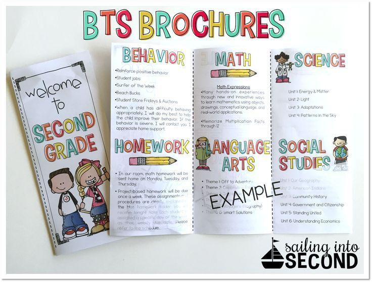 Best 25+ Teacher brochure ideas on Pinterest | Curriculum night ...