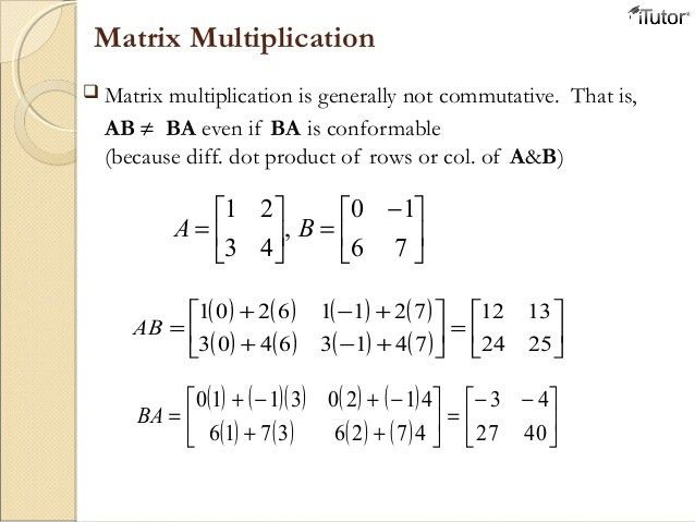 Linear Algebra and Matrix