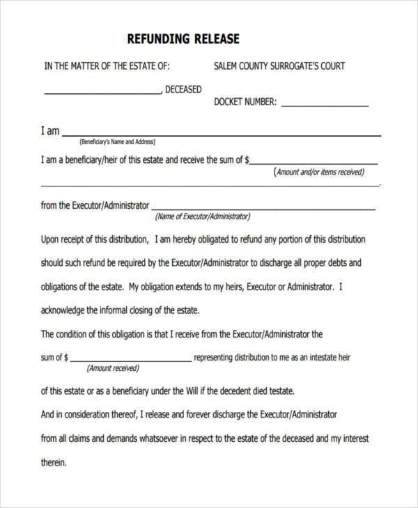 Free Liability Release Forms Printable Online [Template .  Free Liability Release Forms Printable Online