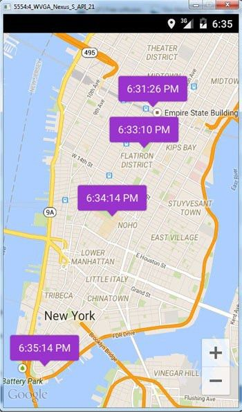 Android Location Tracker with Google Maps - Java Tutorial Blog