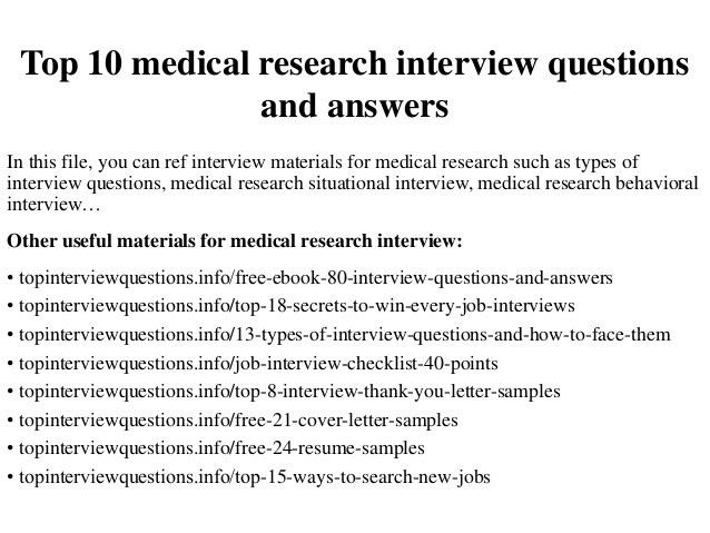 sample cover letters research assistant medical researcher cover ...