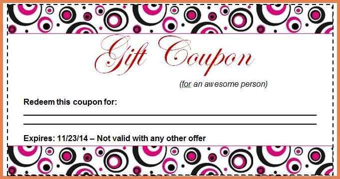 coupon template free | bid proposal sample