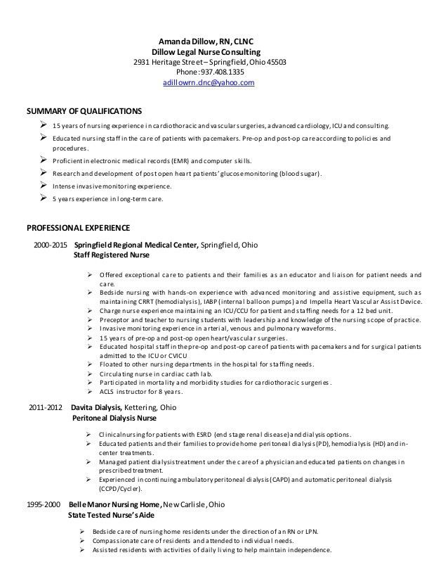 Nursing Home Resume Free Nursing Home Administrator Resume - Legal nurse consultant cover letter