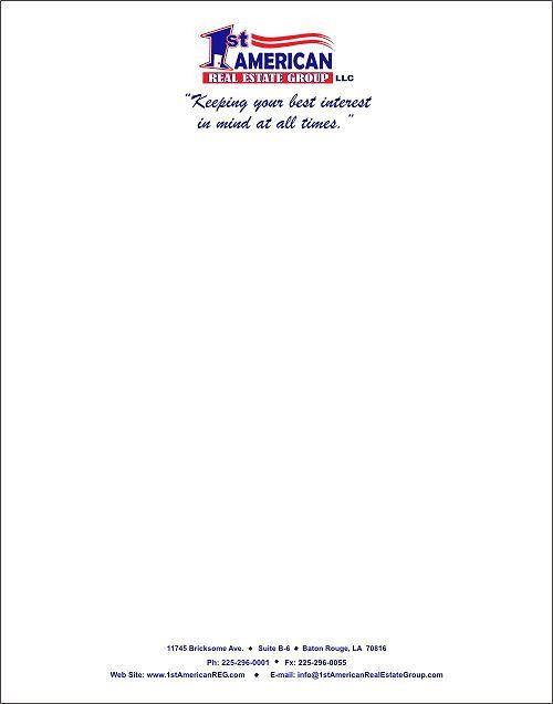 Business Letterhead Samples [Nfgaccountability.com ]