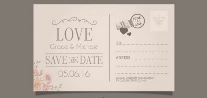 20+ Free Printable Postcard Templates | UTemplates
