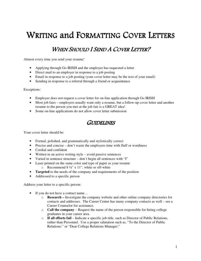 Tax Advisor Cover Letter