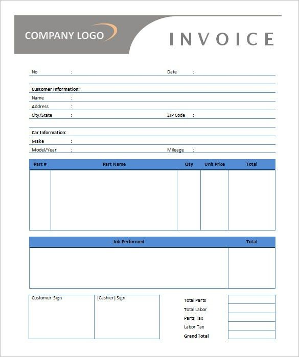 Download Tax Invoice Template Free Word | rabitah.net