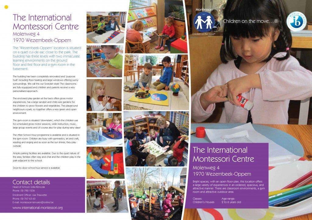 International Montessori Schools » School brochures