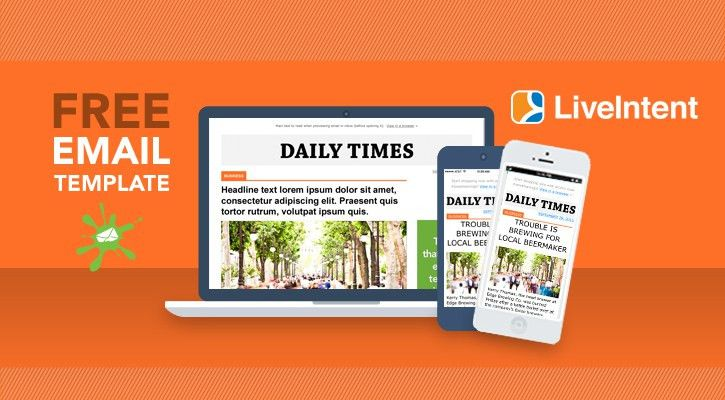 Serve up Dynamic Ads in Email with Our Free Responsive Template