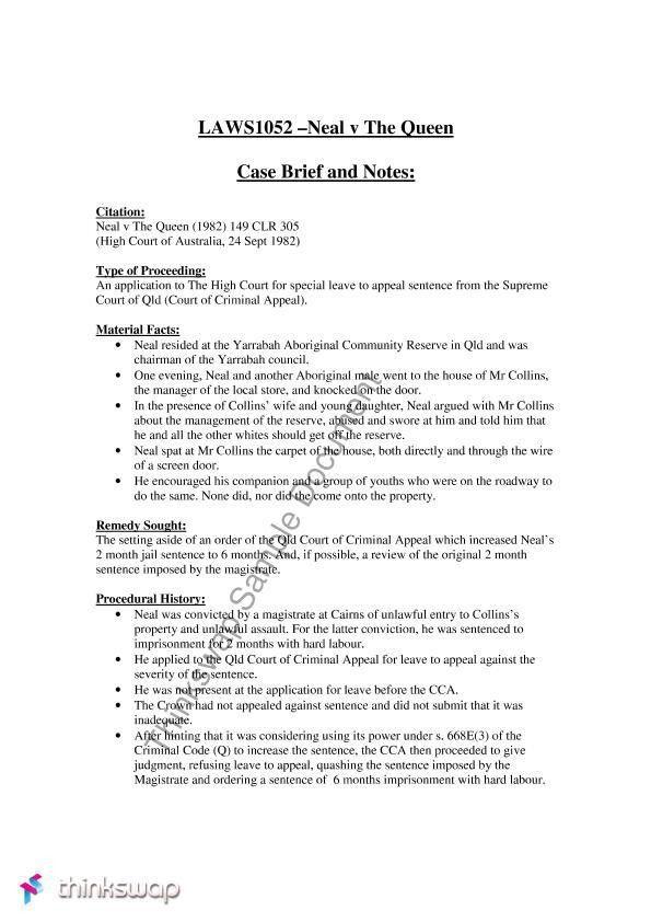 Case Brief Template | cyberuse