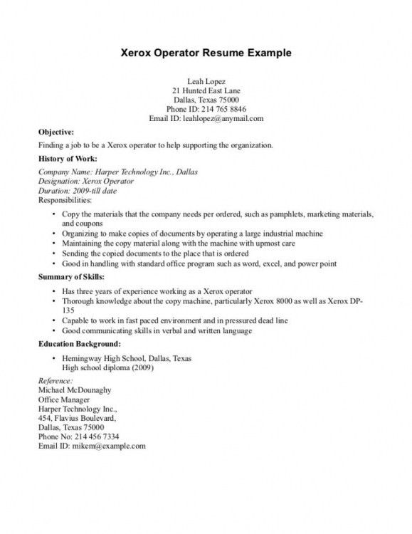 Machine Technician Cover Letter