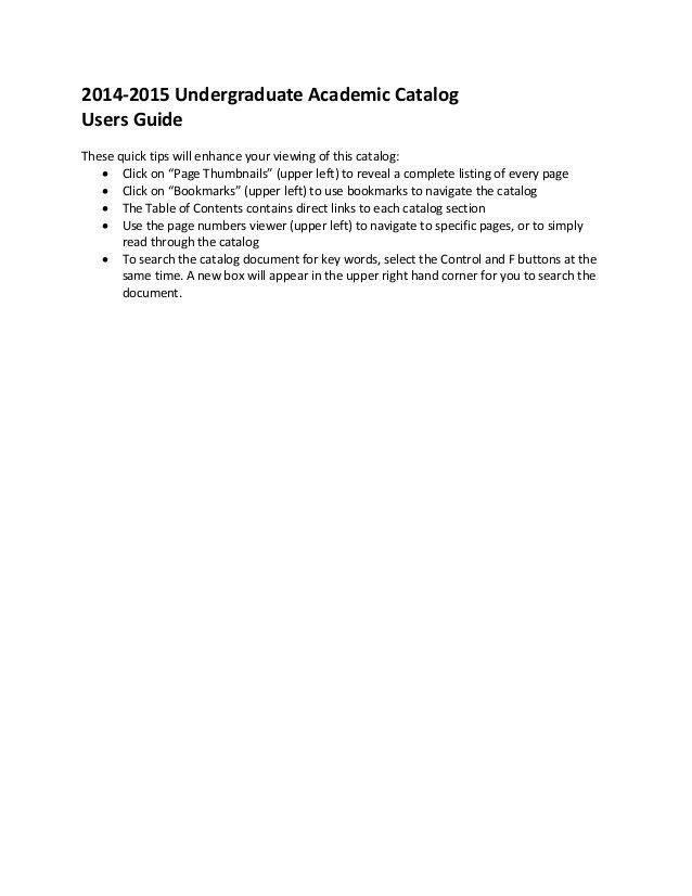 Concordia University Chicago Graduate catalog-2014-2015-final-web