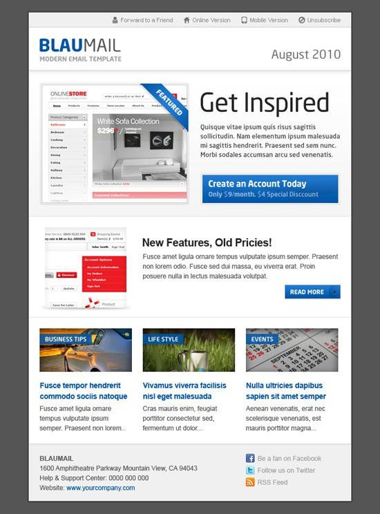 Best Email Newsletter Templates for Your Brand Marketing Strategy
