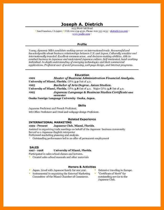 Download Resume Examples. Perfect Resume Example Perfect Resumes ...