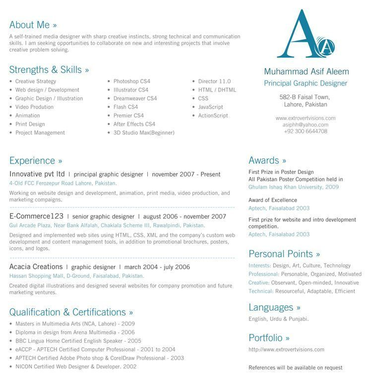 11 best resume images on Pinterest | Resume ideas, Resume examples ...