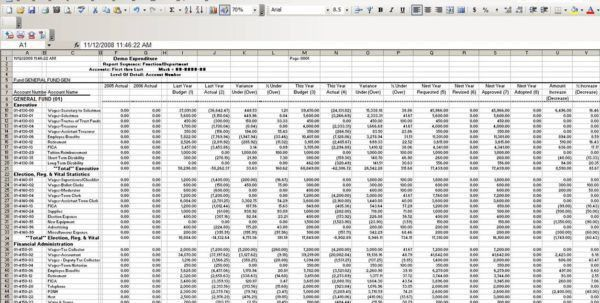 Small Business Bookkeeping Template 1 Accounting Spreadsheet ...