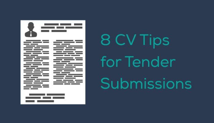 8 CV tips for tender submissions | Janet MacCallum | Pulse | LinkedIn