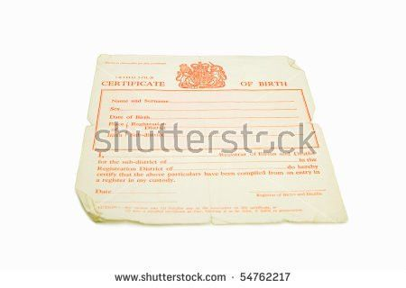 Birth Certificate Stock Images, Royalty-Free Images & Vectors ...