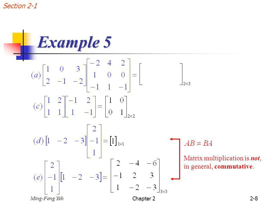 Chap. 2 Matrices 2.1 Operations with Matrices - ppt video online ...