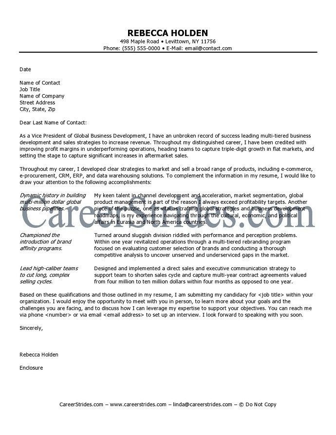 Letter Of Interest For Job. Image Titled Write A Letter Of ...