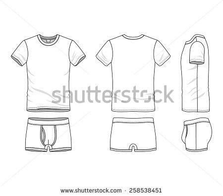 Sample Sports Clothing Soccer Tshirt Shorts Stock Illustration ...