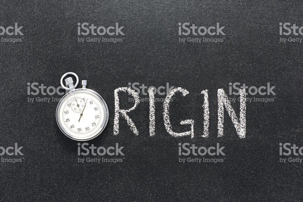Origin Word Watch stock photo 541115062 | iStock