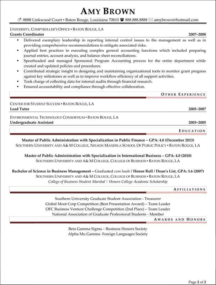 Entry Level Financial Analyst Resume | berathen.Com