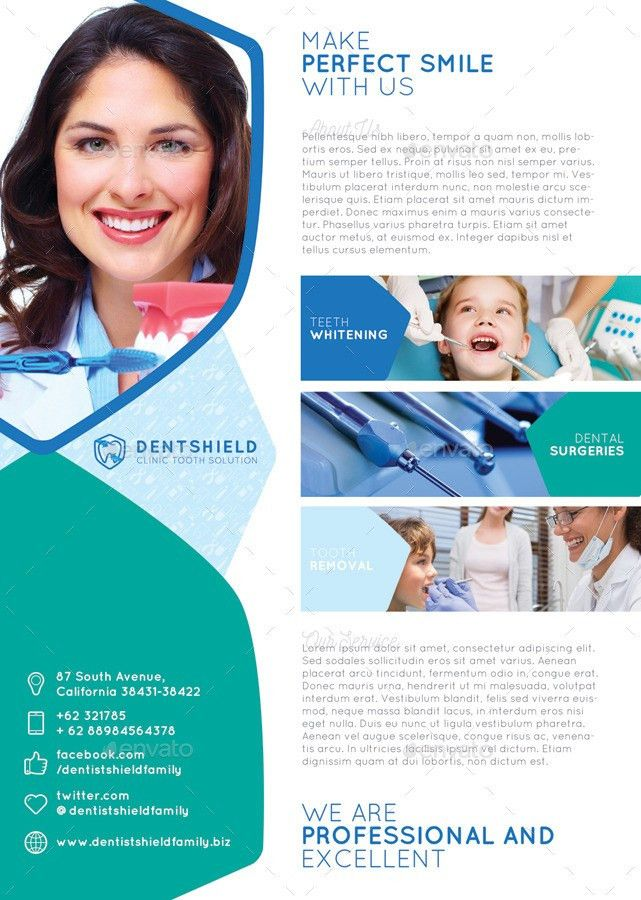 Dentist Flyer/Poster by CreativeComplex | GraphicRiver