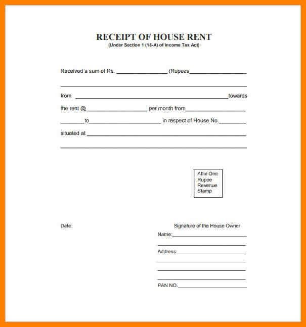 10+ rent bill format | portfolio covers