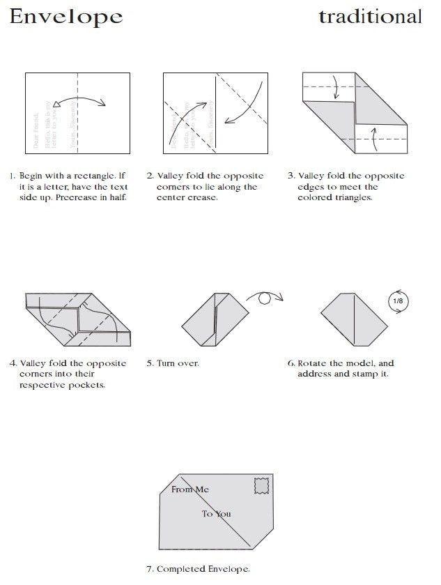 Origami Envelopes – thelinoprinter