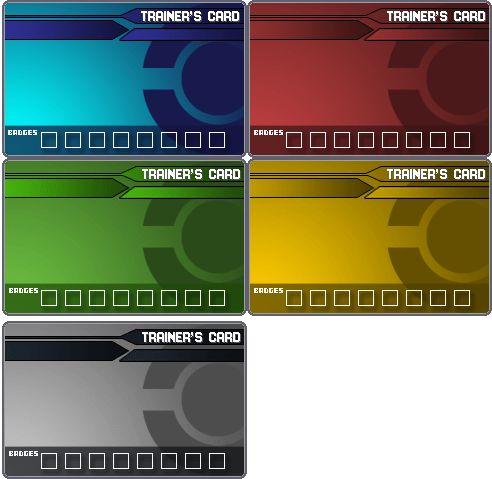 Pokemon Trainer Card Templates by Ford206 on DeviantArt