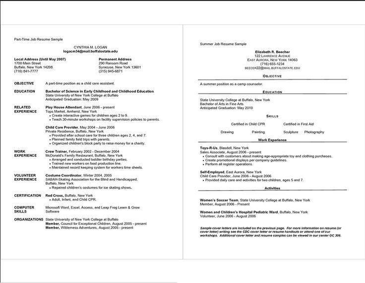 Resume Examples For Beginners. Sample Resume For Beginners ...