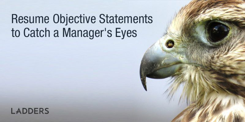 Career & Resume Objective Statements to Catch Attention | Ladders