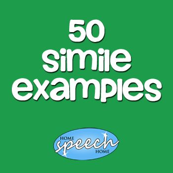 50 Simile Examples for Kids