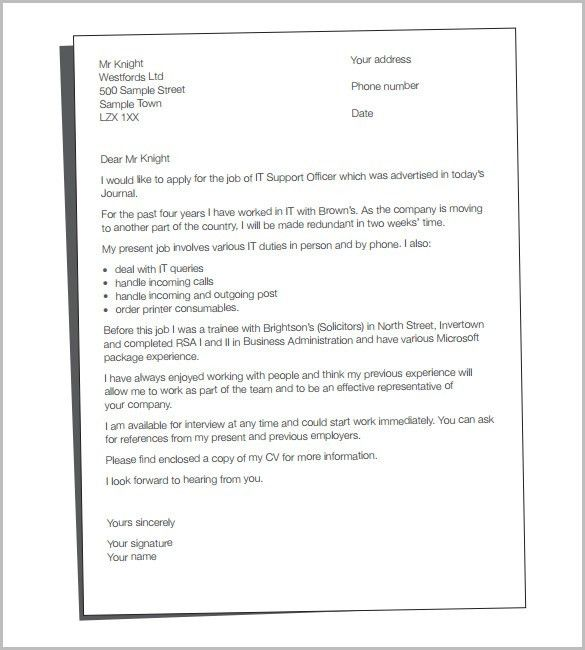 15+ Good Cover Letter Template and Essential Elements to Put