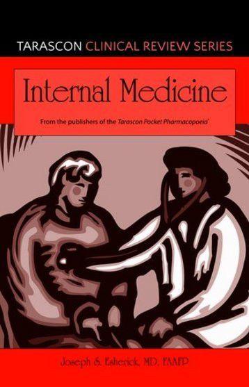 Tarascon Clinical Review Series: Internal Medicine